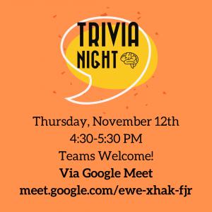 Trivia Night (Google Meet)