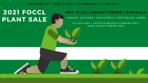 FOCCL Plant Sale @ Cadott Community Library | Cadott | Wisconsin | United States