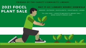 FOCCL Plant Sale @ Cadott Community Library | Cadott | Wisconsin | United States